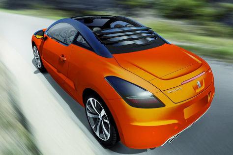 "Peugeot RCZ Cabrio ""View Top"" Studie: Genf 2013"