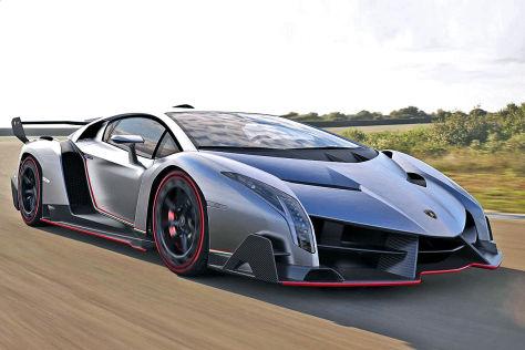 Lamborghini on Lamborghini Veneno  Autosalon Genf 2013   Autobild De