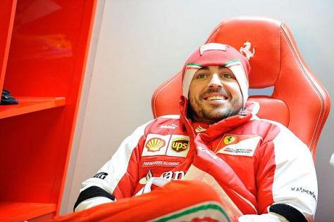 Fernando Alonso geht entspannter als im vergangenen Jahr in die neue Saison