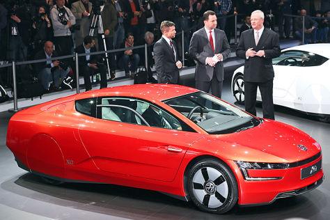 VW E Golf >> Autosalon Genf 2013: VW-Konzernabend - autobild.de