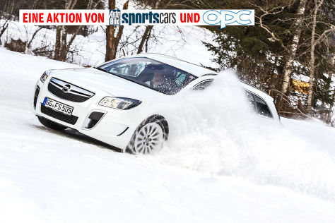 Partneraktion: Opel OPC  Winterfahrtraining