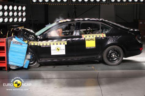 Skoda Octavia Euro NCAP Crashtest März 2013