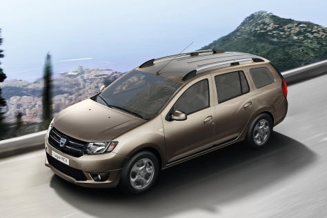 Dacia Logan MCV: Autosalon Genf 2013