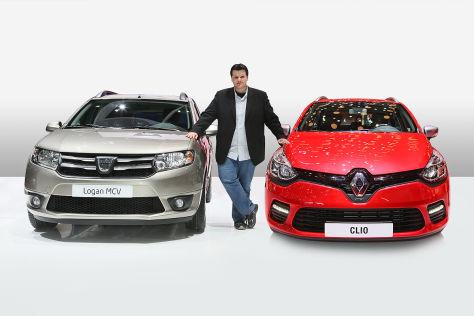 Dacia Logan MCV Renault Clio Grandtour