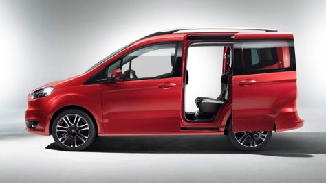 Ford Tourneo Courier: Autosalon Genf 2013