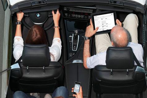 BMW/T-Systems: LTE-Datenfunk im Auto