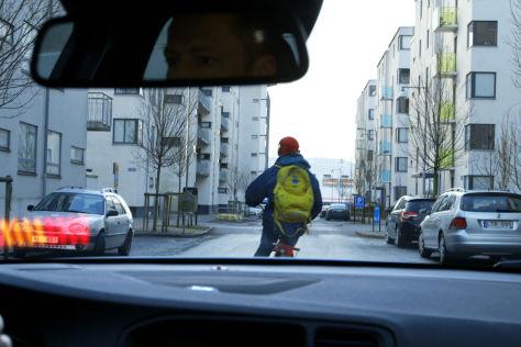 Volvo Fahrradfahrer-Erkennung