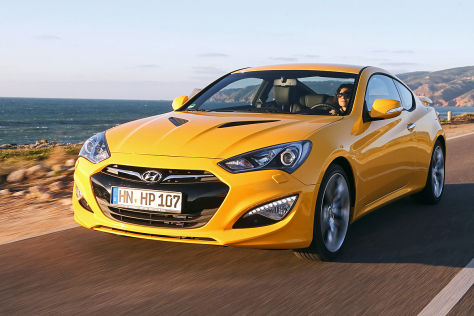 Hyundai Genesis Coupé 3.8 V6: Fahrbericht - autobild.de