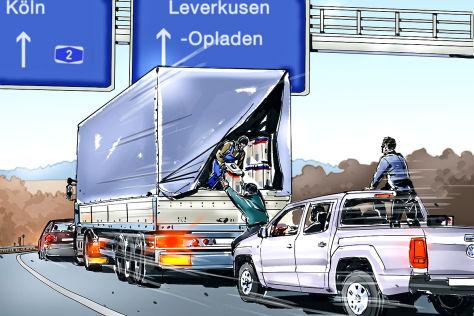 LKW-Raubüberfälle