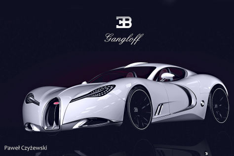 vorbild gangloff bugatti s57 bugatti veyron designstudie. Black Bedroom Furniture Sets. Home Design Ideas