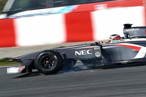 Nico Hülkenberg konnte sich bei den Tests gut in Szene setzen