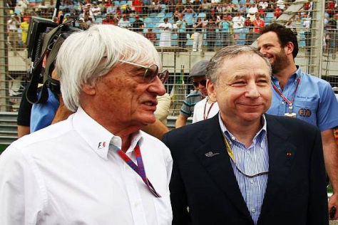 Bernie Ecclestone und Jean Todt stellen die Weichen für die Formel-1-Zukunft