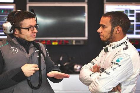Lewis Hamilton gefällt das Arbeitsklima bei Mercedes