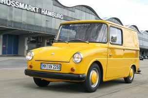 Ein Van zum Versenden