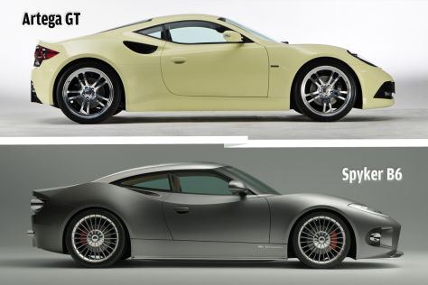 Spyker B6 Venator Concept/Artega GT