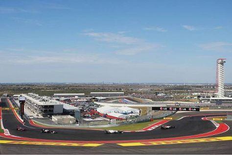 Die Formel 1 eröffnete im vergangenen November die neue Rennstrecke in Texas