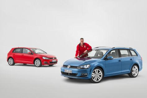 Golf Limousine/Variant: Vergleich