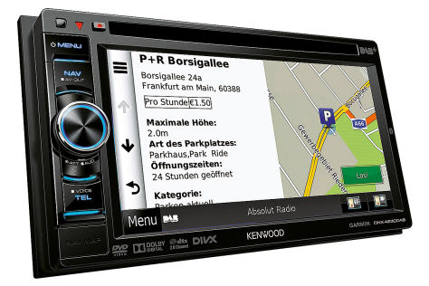 Kenwood DNX4320 DAB