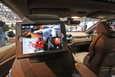 Siri-Sprachsteuerung im Ferrari
