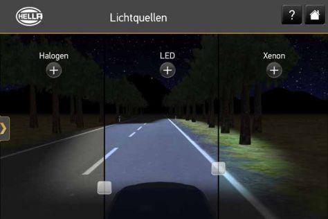 Licht-App von Hella