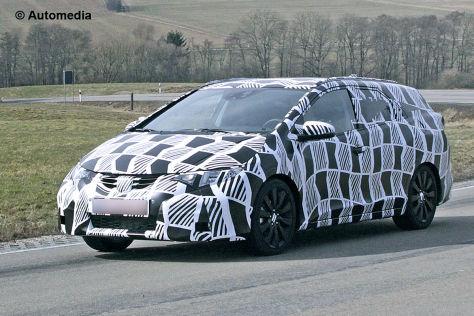 Jaguar XS Erlkönig