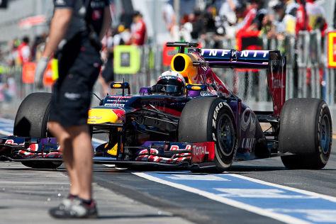 Sebastian Vettel in Melbourne