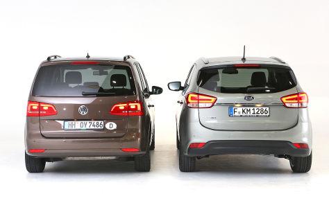 Kia Carens VW Touran