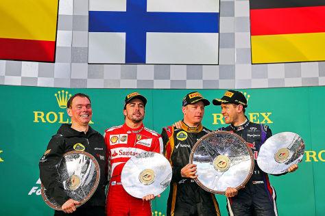 Formel 1 2013 Australien Podium