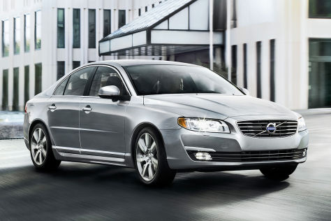 Facelift Volvo S80: Genfer Autosalon 2013