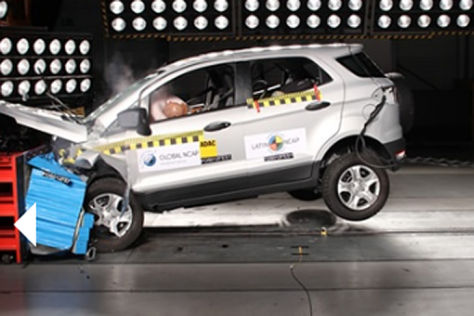 Ford EcoSport Latin NCAP Crashtest M&auml;rz 2013