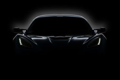Detroit Electric Teaserbild des angekündigten Elektro-Sportwagens