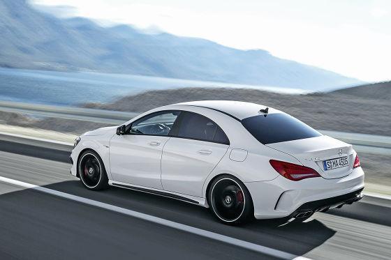 Mercedes CLA-Klasse CLA 45 AMG