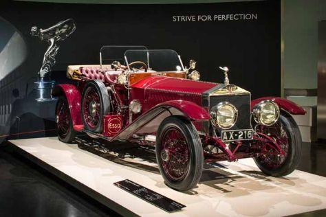 Rolls-Royce Ausstellung im BMW-Museum