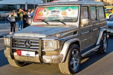 Mercedes G-Klasse: münzenbeklebt