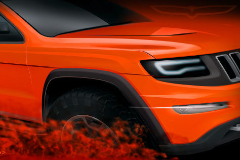 "Jeep Grand Cherokee ""Trailhawk II"" concept"