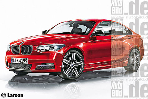 BMW 2er Gran Coupé Illustration