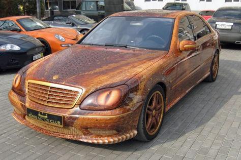 Mercedes-Benz S 65 AMG: Kurioses Tuning