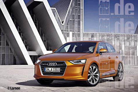 Raumriesen von Audi, BMW und Mercedes