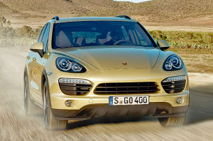 So f�hrt der Cayenne Turbo S