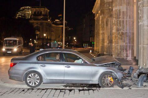 Verunglückter BMW