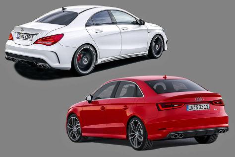 Audi A Vs Mercedes Cla