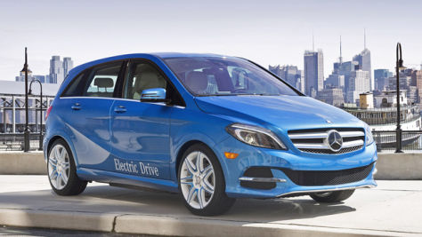 Mercedes B-Klasse Electric Drive: New York 2013