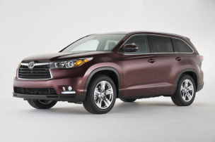 Toyota Highlander: New York Auto Show 2013