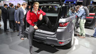 Range Rover Sport (New York 2013): Sitzprobe