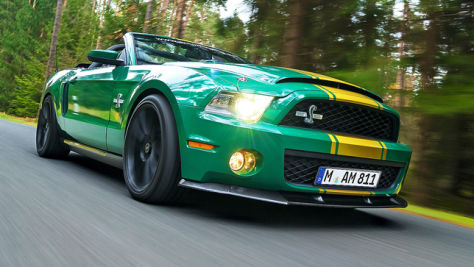 Ford Mustang Shelby GT 500 Super Snake: Test