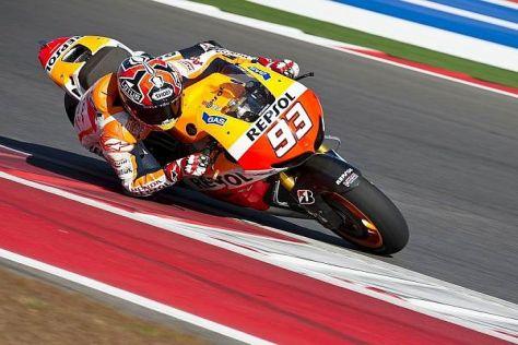 Marc Marquez fuhr am letzten Tag die schnellste Runde des gesamten Tests