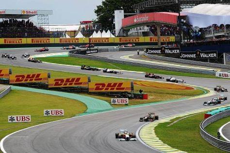 Das Rennen in Sao Paulo könnte bald der Geschichte angehören