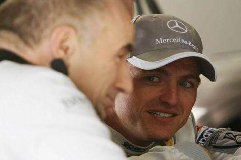Ralf Schumacher wird künftig noch enger mit Peter Mücke (links) zusammenarbeiten
