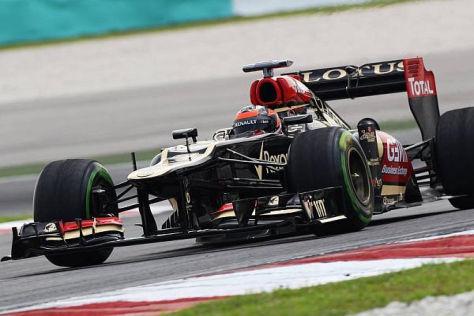 Kimi Räikkönen kann mit seinem ersten Arbeitstag in Malaysia zufrieden sein