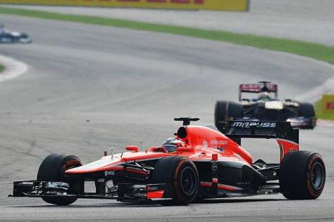 Jules Bianchi zeigt bei Marussia eine beeindruckend Leistung